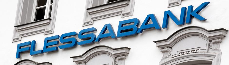 Fassade FLESSABANK-Gebäude