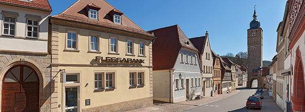 Persönlicher Service vor Ort - Flessabank Ebern
