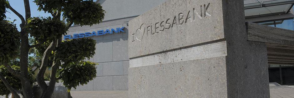 Flessabank, die Bank mit dem Plus! Wir bieten persönlichen Service vor Ort!