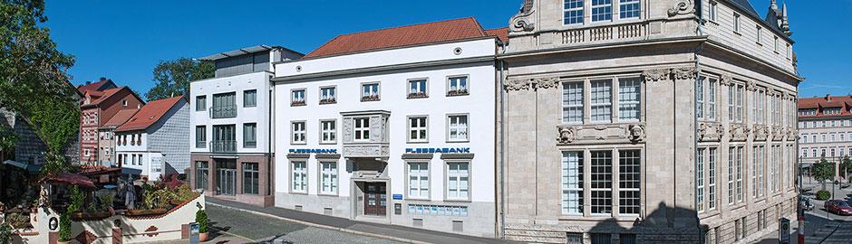 Persönlicher Service vor Ort - Flessabank Eisenach