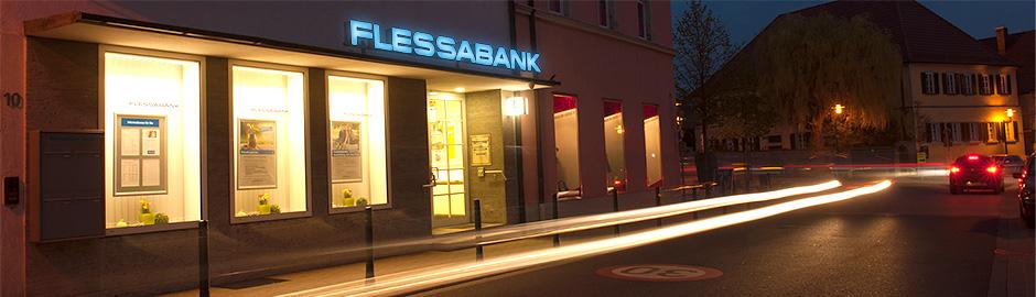 Persönlicher Service vor Ort - Flessabank Gochsheim