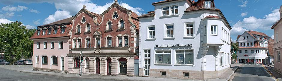 Persönlicher Service vor Ort - Flessabank Kronach