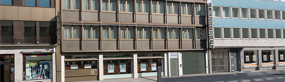 Persönlicher Service vor Ort - Flessabank München