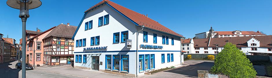 Persönlicher Service vor Ort - Flessabank Schmalkalden